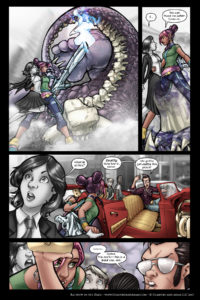 Rainbow in the Dark #1 pg. 12: Big Damn Rescue