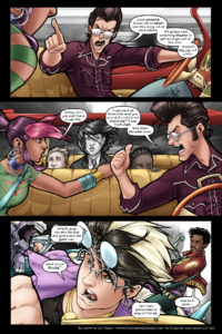 Rainbow in the Dark #1 pg. 15: Insane is His Gig