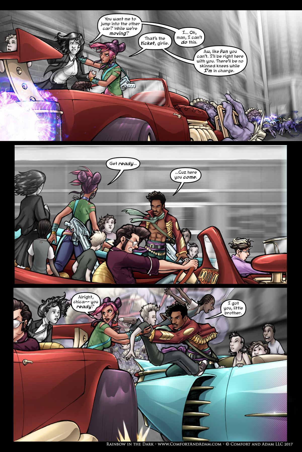 Rainbow in the Dark #1 pg. 16: Get Ready