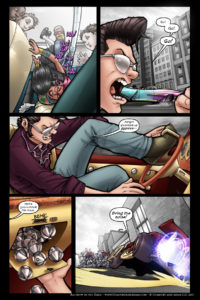 Rainbow in the Dark #1 pg. 19: Rock This Town