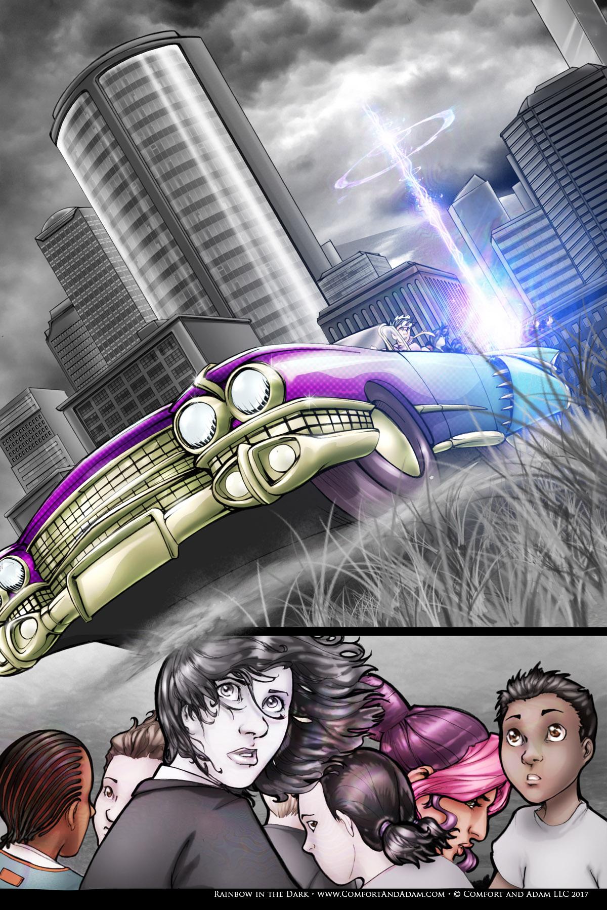 Rainbow in the Dark #1 pg. 21: One Last Boom