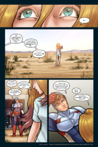 The Uniques #1 pg. 13: Countryman