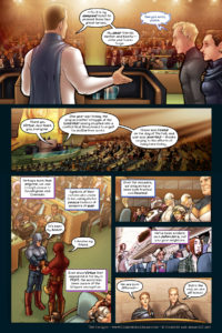 The Uniques #1 pg. 17: The UN Address