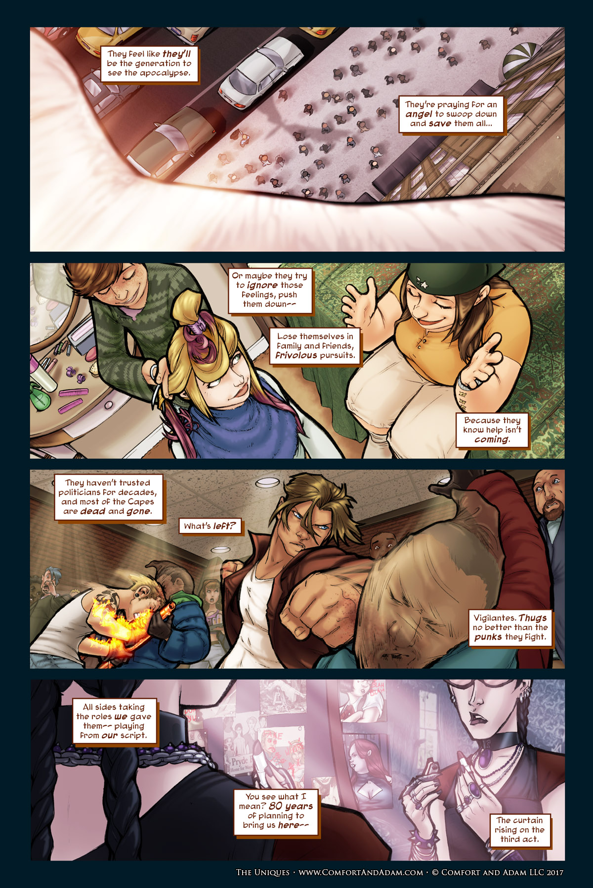 The Uniques #1 pg. 28: What's to Come