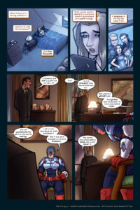 The Uniques #1 pg. 29: A Man With a Plan