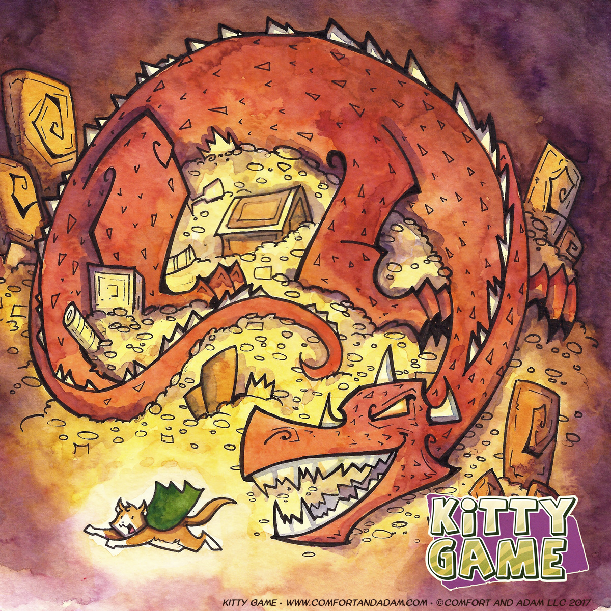 Kitty Game 20: Dragon's Hoard