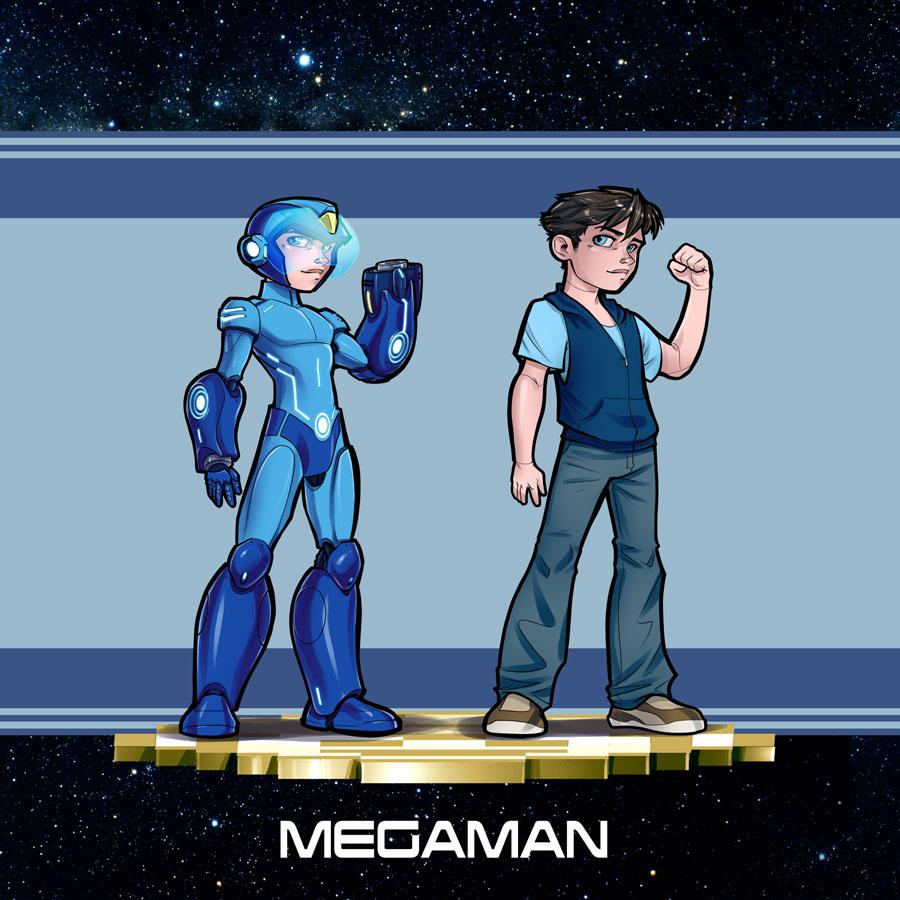 Mega Man New Design