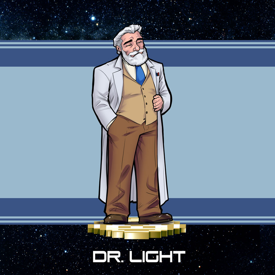 Mega Man Redesign Dr. Light