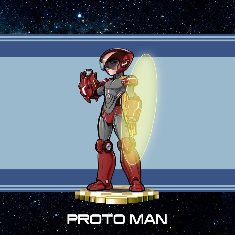 Mega Man Protoman Redesign