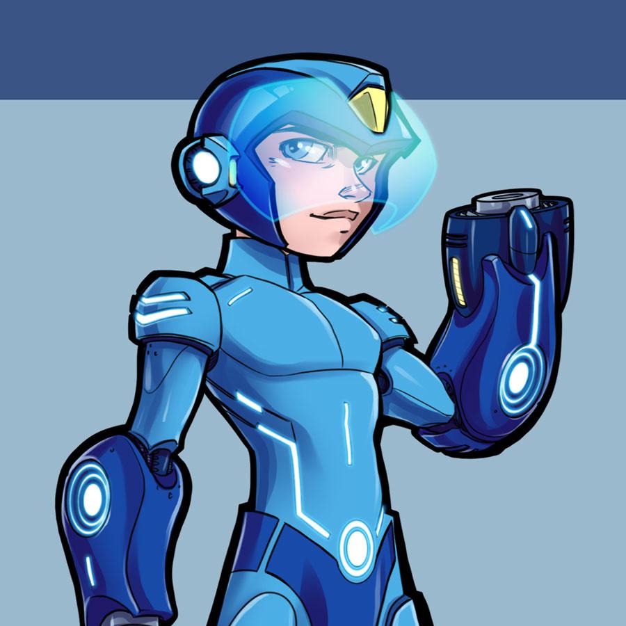 Mega Man Design thumbnail