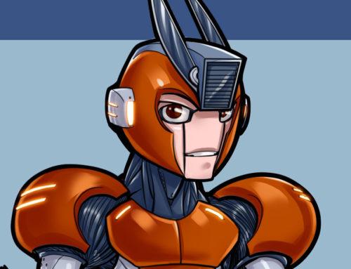 Mega Man Redesign: Cut Man
