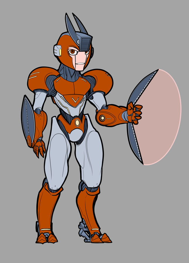 Mega man cut man redesign