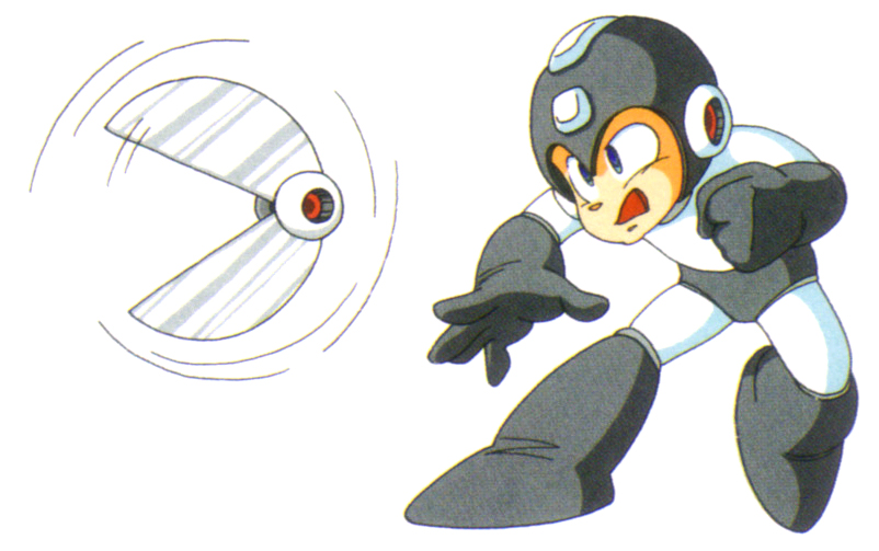 Mega Man Rolling Cutter Cut Man Weapon