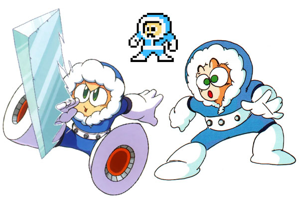 Mega Man Boss Ice Man