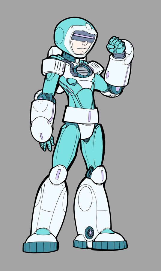 Mega Man Redesign Ice Man