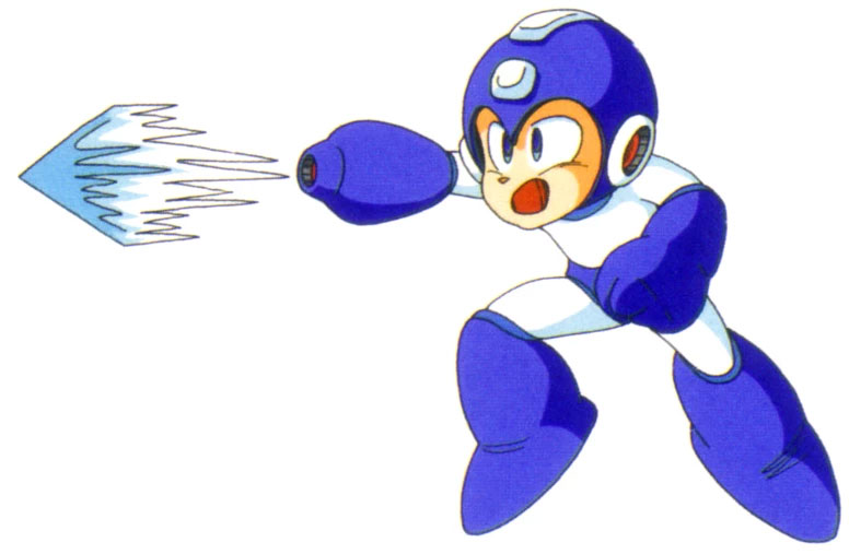 Mega Man Ice Slasher Weapon