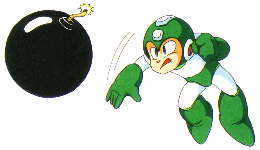 Mega Man Hyper Bomb Bomb Man