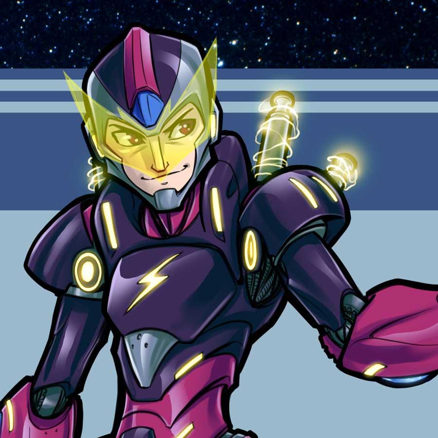 Mega Man Redesign Elec Man Thumb
