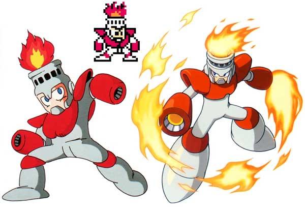 Mega Man Fire Man
