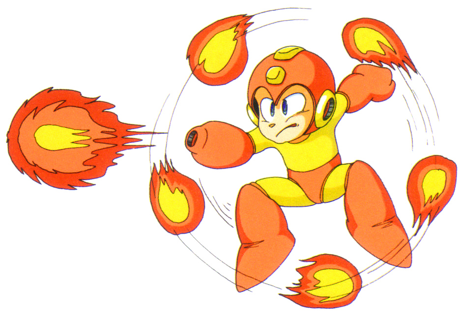 Mega Man Fire Storm