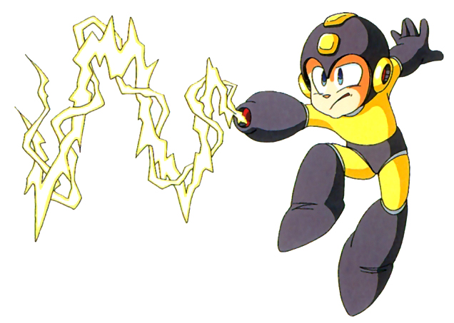 Mega Man Thunder Beam