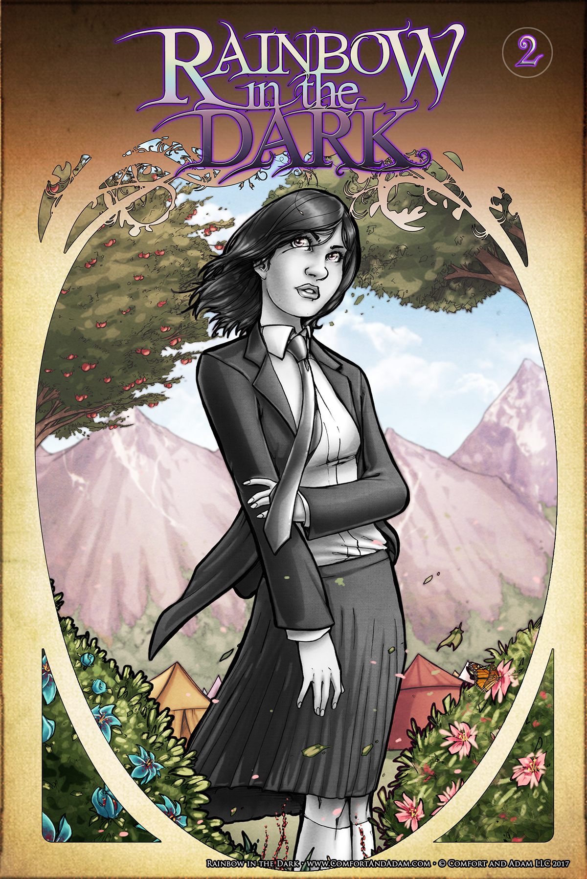 Rainbow in the Dark #2: Discover Cover