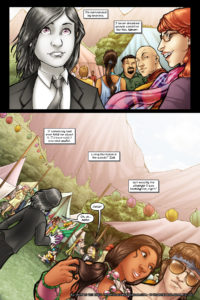 Rainbow in the Dark #2, pg.1: Entering the Camp