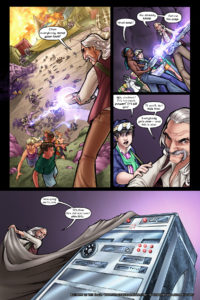Rainbow in the Dark #2, pg. 22: Unveil the Amp