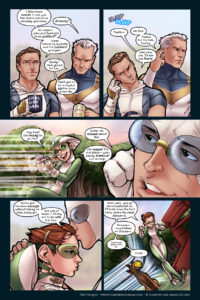 The Uniques #2, pg. 4: Kid Quick