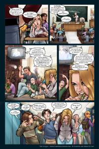 The Uniques #2, pg. 12: Public School Blues