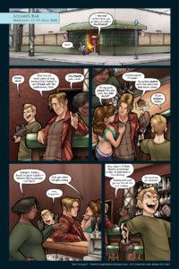 The Uniques #2, pg. 14: Quake and Singe