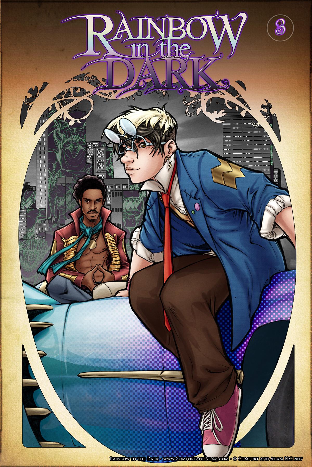 Rainbow in the Dark #3: Believe Cover