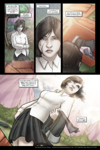 Rainbow in the Dark #3, pg. 2: Silent All These Years