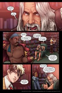 Rainbow in the Dark #3, pg. 3: A Hard Decision