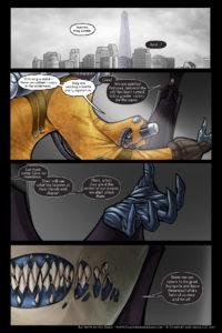 Rainbow in the Dark #3, pg. 6: A Dark Plan Awaits
