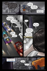 Rainbow in the Dark #3, pg. 9: It's a Trap!