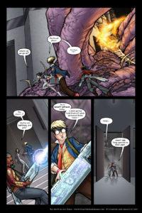 Rainbow in the Dark #3, pg. 11: Goodbye, Car