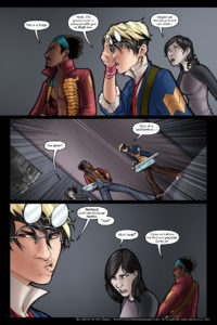 Rainbow in the Dark #3, pg. 12: Trapped Inside