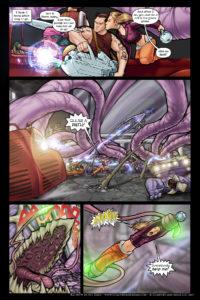 Rainbow in the Dark #3, pg. 15: Morgan's Run