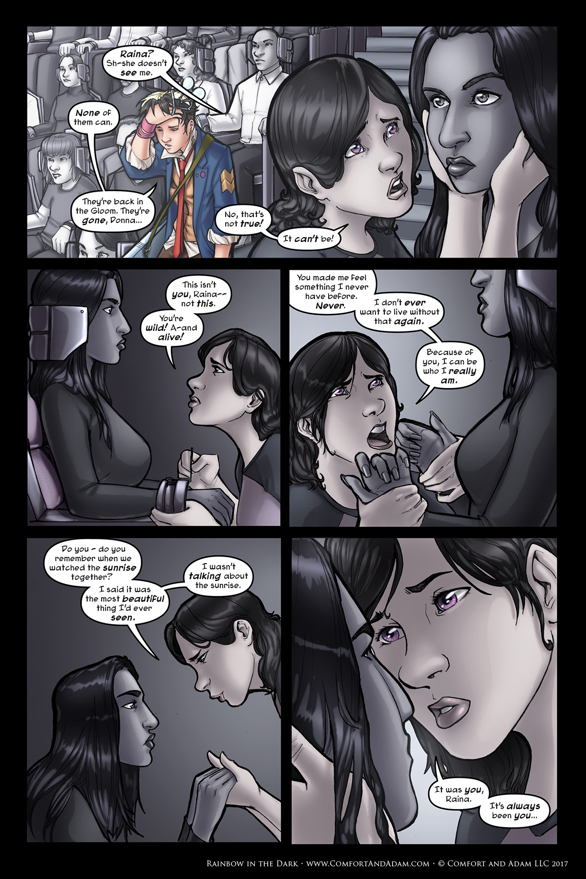 Rainbow in the Dark #3, pg. 18: This Isn't You