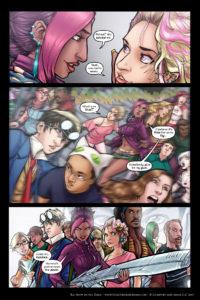 Rainbow in the Dark #3, pg. 20: Get My Gun