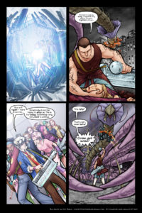 Rainbow in the Dark #3, pg. 21: One More Try
