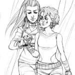Raina & Donna by Del Borovic