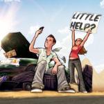 Comfort & Adam Hit the Road Sketchbook Cover